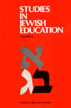 eBook Studies in Jewish Education II: Jewish Educational Research in Diaspora