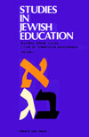 eBook Studies in Jewish Education VI: Teaching Jewish Values