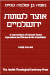 eBook Talmud Yerushalmi: A Concordance of Amoraic Terms, Expressions and Phrases, in 3 vols.