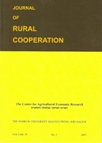 Journal of rural cooperation, Vol. 35, 1, 2007