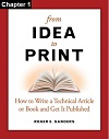 From Idea to Print, Chapter 01: Before You Begin